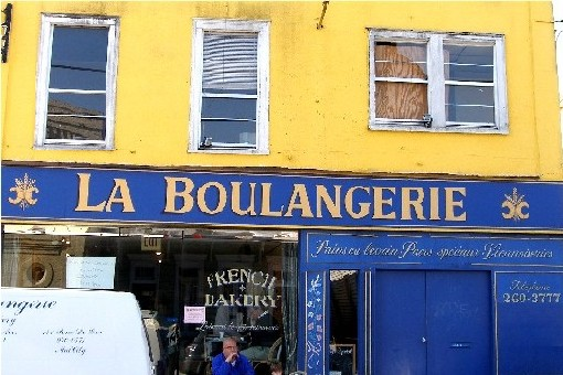 An authentic French bakery on Magazine Street in Uptown New Orleans, La Boulangerie, run by first-generation immigrants.
