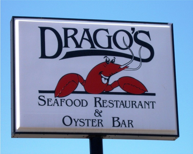 Drago's Restaurant, on North Arnoult Road in the New Orleans suburb of Metairie (Jefferson Parish), run by father and son Drago and Tommy Cvitanovich.  Croatian-American oyster harvesters have supplied its most famous specialty for decades.