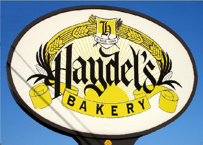 The descendants of 18th century German immigrant, Hans Jacob Heidel, set up this bakery on Jefferson Highway in Metairie (Jefferson Parish).