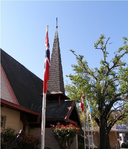 Norwegian Seaman's Church on Prytania Street in the Lower Garden District.