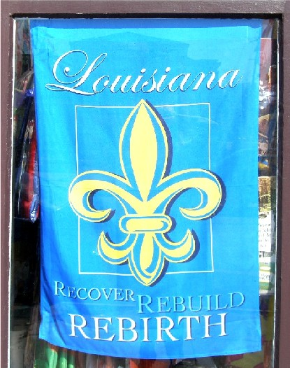 Loyal to the fleur-de-lis and defiant in the wake of destruction, New Orleanians take on the rebuilding effort after Katrina.