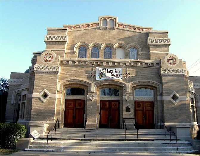 Touro Synagogue on Saint Charles, Uptown -- Second oldest synagogue in the United States.