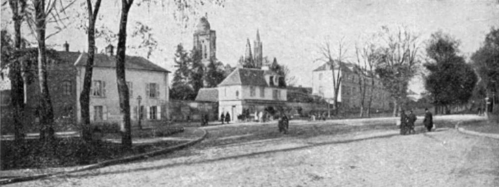 Entrée de la rue de la république avant la guerre
