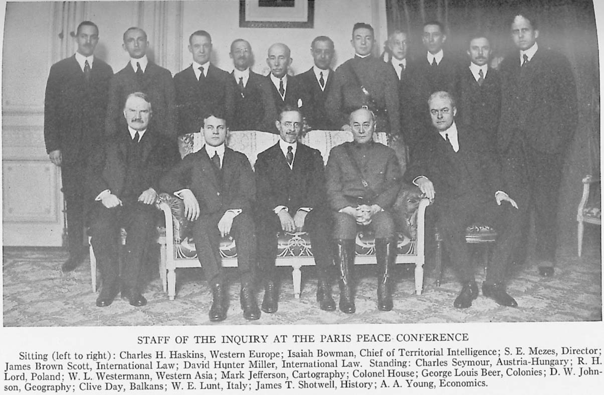 a history and consequences of the paris peace conference and wilsonian ideals Wilsonianism within the treaty of seven nations gathered at the paris peace conference on contribution of wilsonian ideals to the treaty.